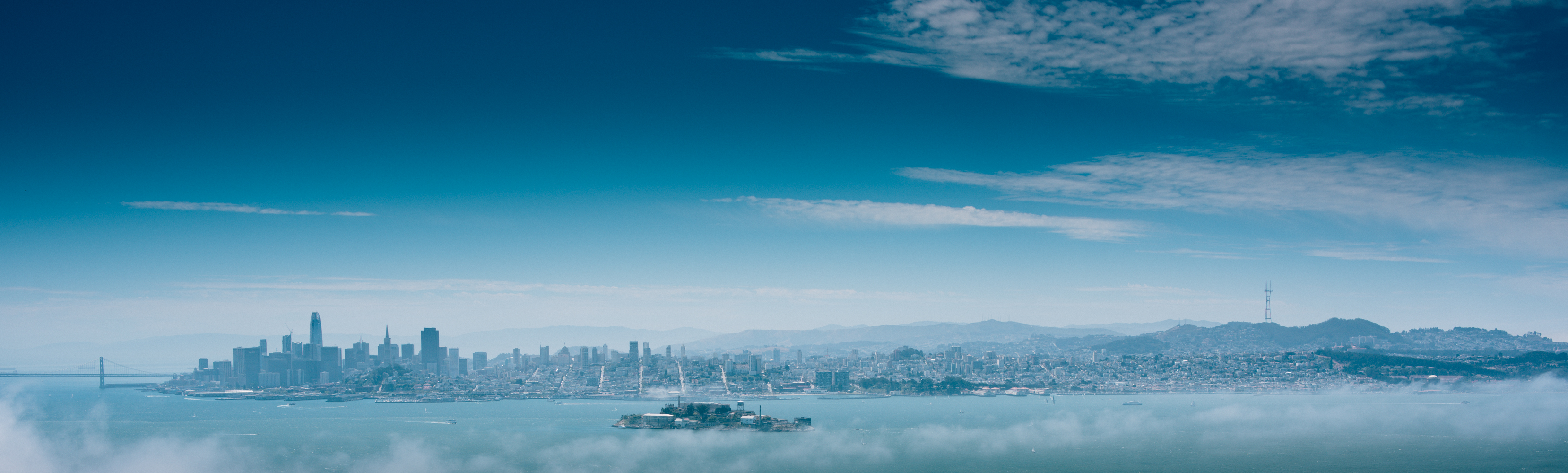 SF from Angel Island