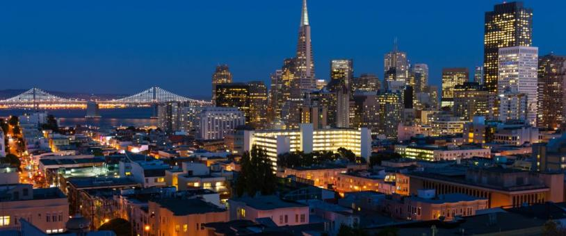 View of San Francisco skyline
