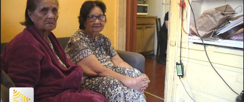 Filipino Grandmothers (Lolas) are facing eviction