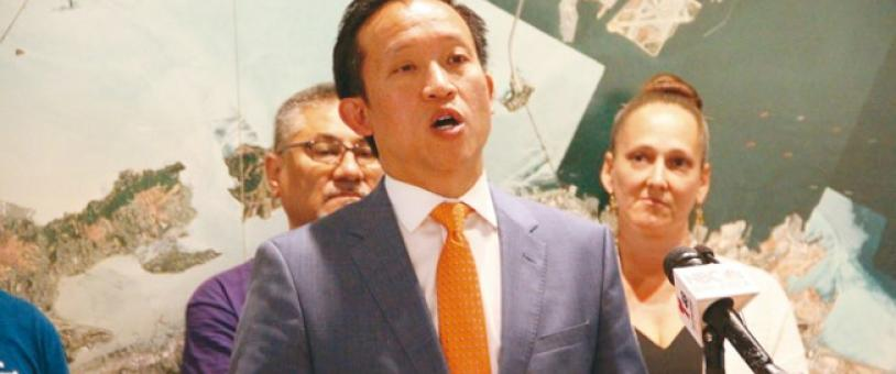Assemblymember David Chiu of San Francisco