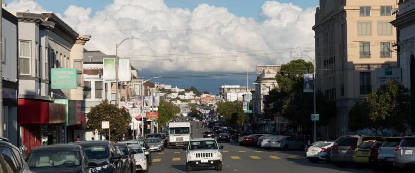 San Francisco in time of coronavirus