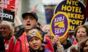 Verizon workers on strike